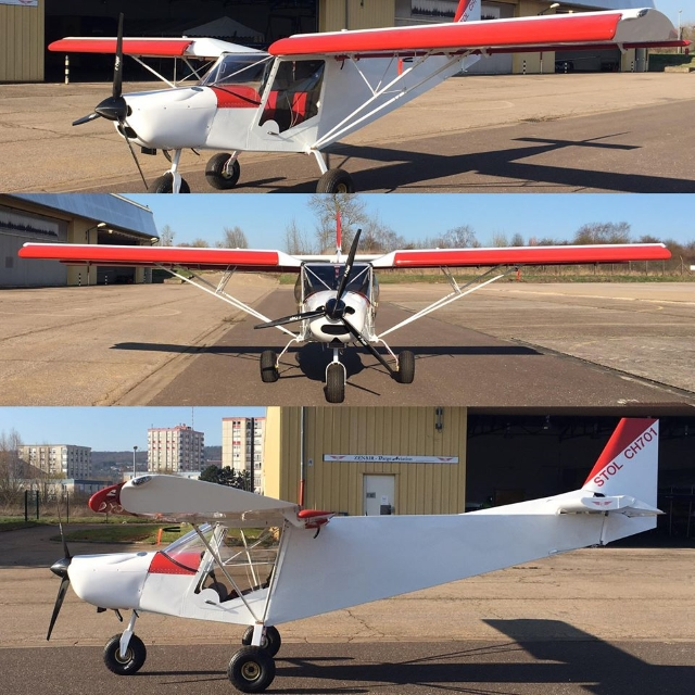ZENAIR CH701 BARGE AVIATION HELICE E-PROPS