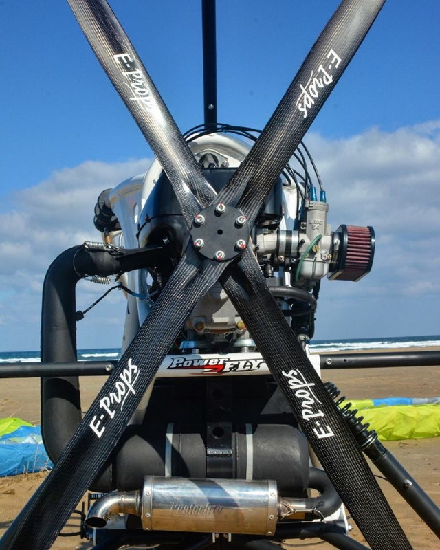 rotax 503 chariot paramoteur E-PROPS