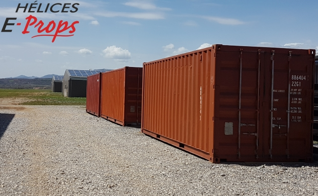 travaux chez e-props / work at e-props containers