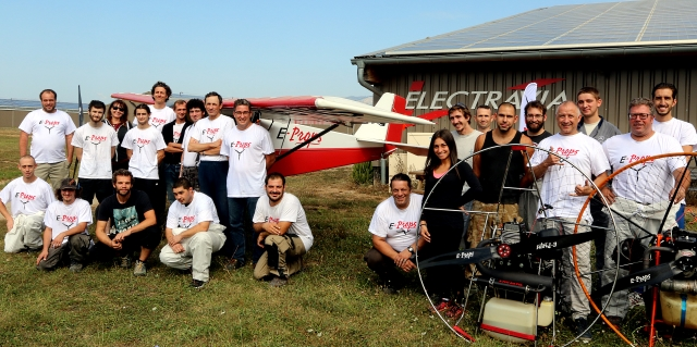 equipe E-PROPS team Sept 2018 10 ans 10 years